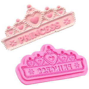 Princess Crown Shape Silicone Cake Mold - bakeware bake house kitchenware bakers supplies baking
