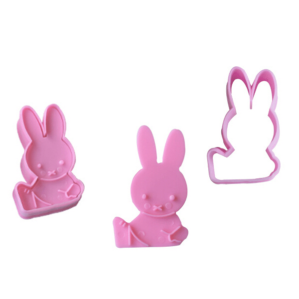 Rabbit Cookie Cutters Mold - bakeware bake house kitchenware bakers supplies baking