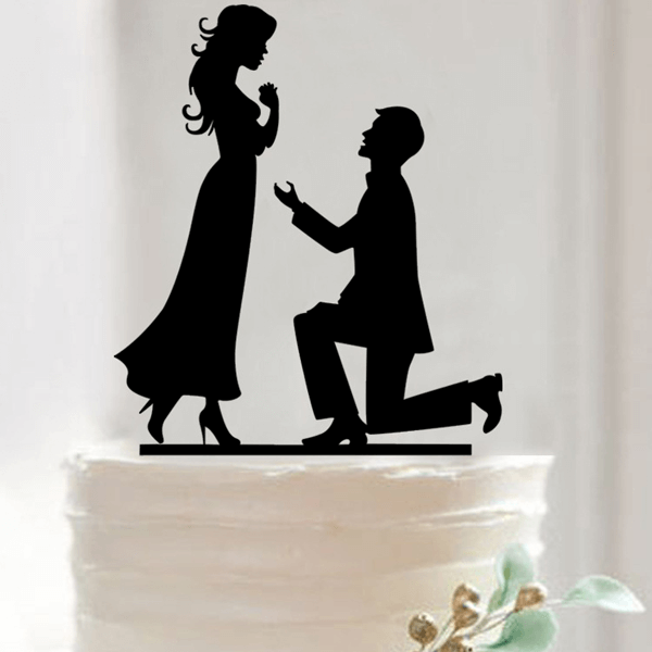 Wedding Theme Party Cake Topper - bakeware bake house kitchenware bakers supplies baking