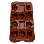 Silicone Chocolate Mold Clock Tea Time - bakeware bake house kitchenware bakers supplies baking