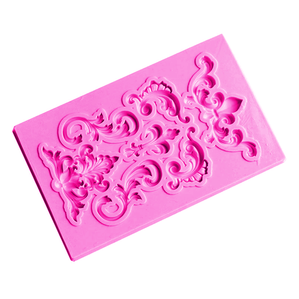 Lace Border Silicone Fondant Mold - bakeware bake house kitchenware bakers supplies baking