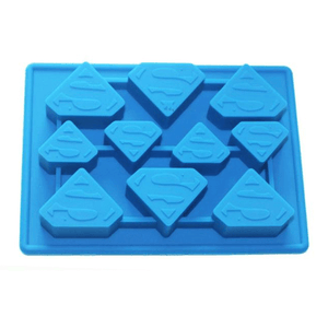 Silicone Fondant Mold Superman - bakeware bake house kitchenware bakers supplies baking