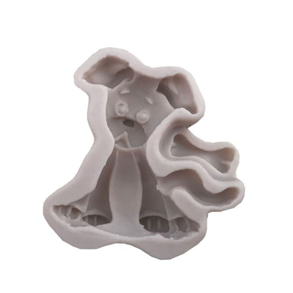 3D Silicone Dog Shape Fondnat Mould - bakeware bake house kitchenware bakers supplies baking