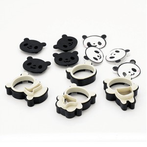 Cartoon Panda Cookies Cutter