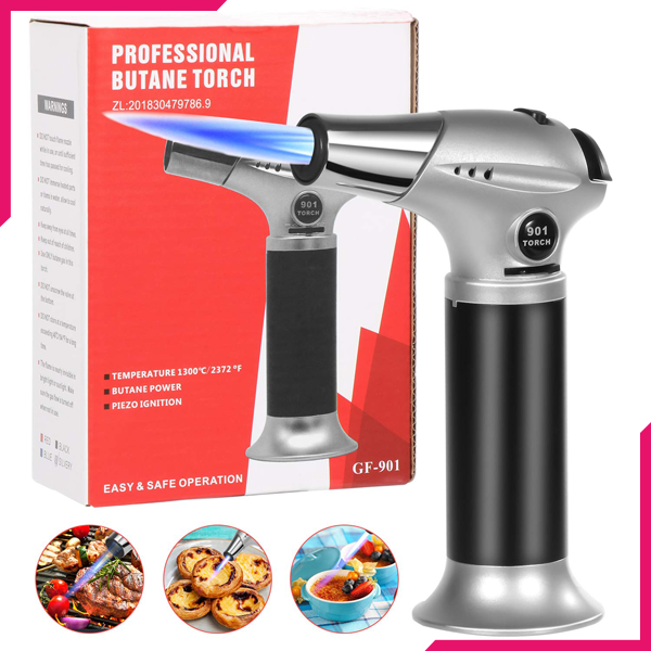 LIT Chef Kitchen Torch - bakeware bake house kitchenware bakers supplies baking