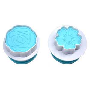 Flower Plunge Cutter Stamp Set - bakeware bake house kitchenware bakers supplies baking