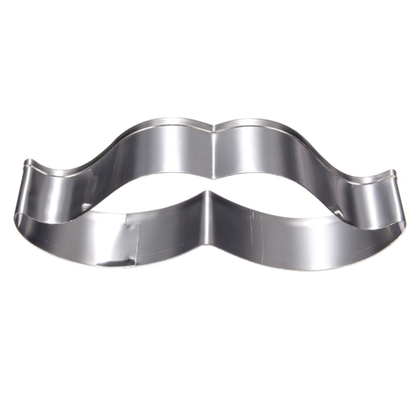 Mustache Cookie Cutter 2pcs - bakeware bake house kitchenware bakers supplies baking