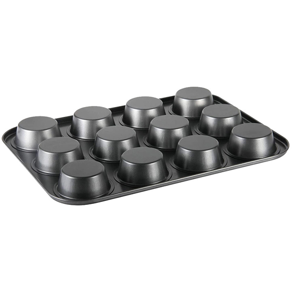 Non-Stick 12Cup Mini Muffin Tray - bakeware bake house kitchenware bakers supplies baking
