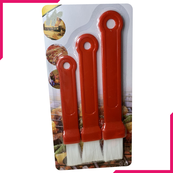 BBQ & Pastry Brush Set 3pcs - bakeware bake house kitchenware bakers supplies baking
