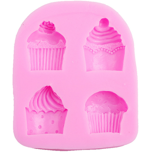3D Cupcake Shaped Silicone Mold - bakeware bake house kitchenware bakers supplies baking