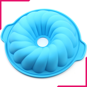 Large Silicone Pudding Flower Mold - bakeware bake house kitchenware bakers supplies baking