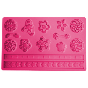 Button Shaped Silicone Fondant Mold - bakeware bake house kitchenware bakers supplies baking