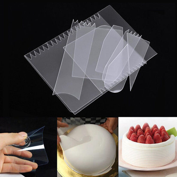 Flexible Cake Smoother 9pcs - bakeware bake house kitchenware bakers supplies baking