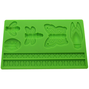 Butterfly, Bee, & Bulb Silicone Mold - bakeware bake house kitchenware bakers supplies baking