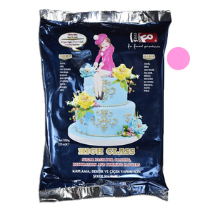 Baby Pink Fondant Sugar Paste 1Kg Pack - bakeware bake house kitchenware bakers supplies baking