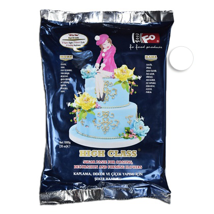 White Fondant Sugar Paste 1Kg Pack - bakeware bake house kitchenware bakers supplies baking