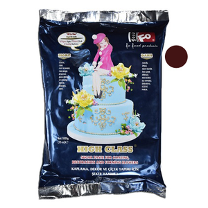 Brown Fondant Sugar Paste 1Kg Pack - bakeware bake house kitchenware bakers supplies baking