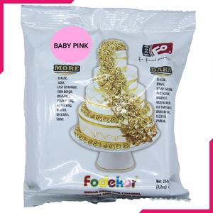 Baby Pink Fondant Sugar Paste 250g Pack - bakeware bake house kitchenware bakers supplies baking