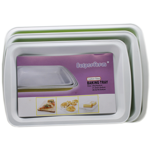Outperform Carbon Steel Baking Tray 3 Pcs