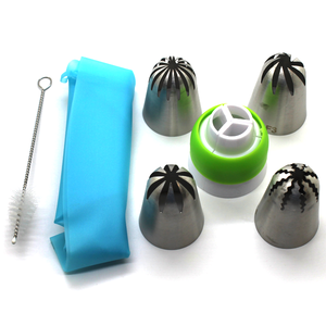Tricolor Converter Cake Decorating Tools Set