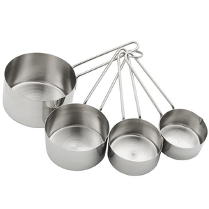 VOCEN Stainless Steel Measuring Cup 4Pcs