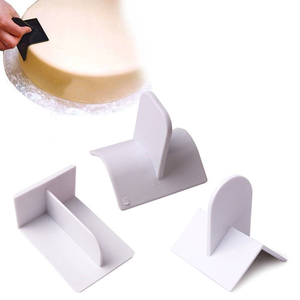 Fondant Cake Smoothing 3 Pcs  Set - bakeware bake house kitchenware bakers supplies baking