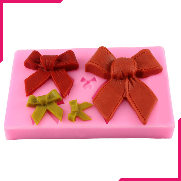 Bowknot Silicone fondant mold - bakeware bake house kitchenware bakers supplies baking