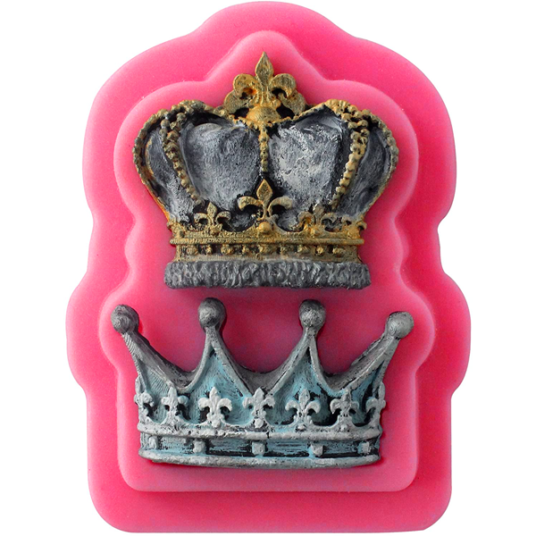 3D Crowns Silicone Mold - bakeware bake house kitchenware bakers supplies baking