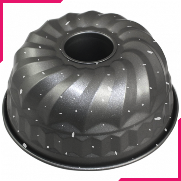 Non-Stick Steel Bundt Pan 6 Inch - bakeware bake house kitchenware bakers supplies baking