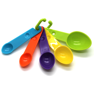 Colorful Measuring Spoons 5Pcs