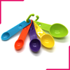Colorful Measuring Spoons 5Pcs - bakeware bake house kitchenware bakers supplies baking