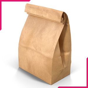 Paper Food Bag - bakeware bake house kitchenware bakers supplies baking