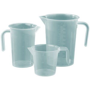 Measuring Jug Set 3 Pcs - bakeware bake house kitchenware bakers supplies baking