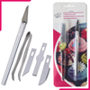 Sugarcraft Knife With 4 Blades & Tweezers - bakeware bake house kitchenware bakers supplies baking