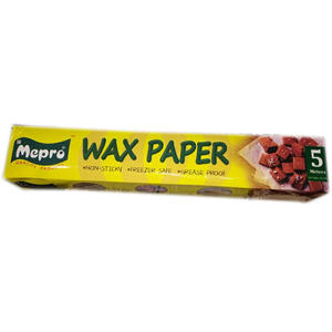 Mepro Wax Paper 5 Meters - bakeware bake house kitchenware bakers supplies baking