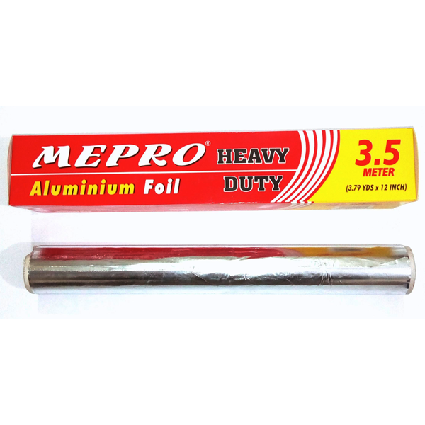 Mepro Aluminium Foil 3.5 Meter - bakeware bake house kitchenware bakers supplies baking