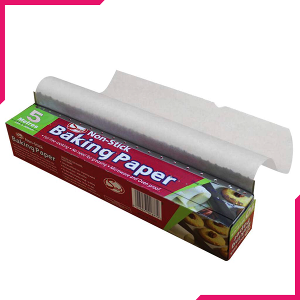 Non-Stick Baking Paper 5 Meter - bakeware bake house kitchenware bakers supplies baking