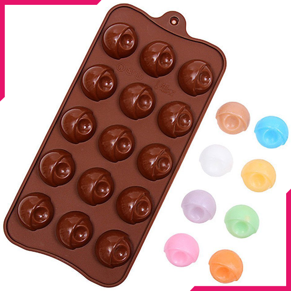 Silicone Chocolate Mold Eyes - bakeware bake house kitchenware bakers supplies baking