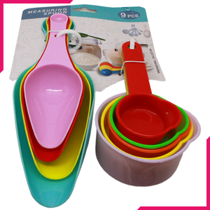 Colorful Measuring Spoons Set 9Pcs - bakeware bake house kitchenware bakers supplies baking