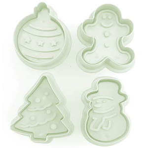 Plunge Cutter Christmas Theme - bakeware bake house kitchenware bakers supplies baking