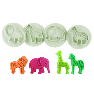 Plunge Cutter - Zoo Animals