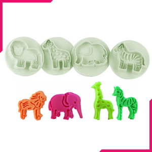 Plunge Cutter - Zoo Animals - bakeware bake house kitchenware bakers supplies baking