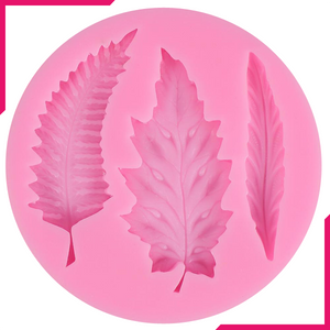 Tree Leaves Silicone Mold - bakeware bake house kitchenware bakers supplies baking