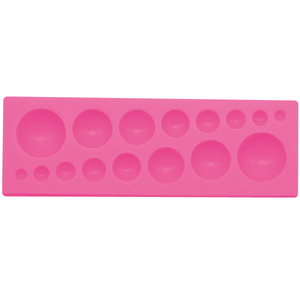 Dome Gemstones Silicone Mold - bakeware bake house kitchenware bakers supplies baking