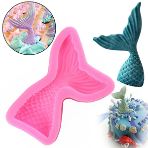 Fish Tail Silicone Mold - bakeware bake house kitchenware bakers supplies baking