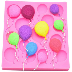 3D Balloon Shaped Silicone Mold - bakeware bake house kitchenware bakers supplies baking