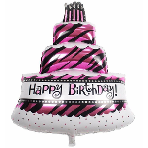 Happy Birthday Foil Balloon - bakeware bake house kitchenware bakers supplies baking