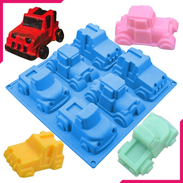 3D Pick-up Truck Car Silicone Mold - bakeware bake house kitchenware bakers supplies baking