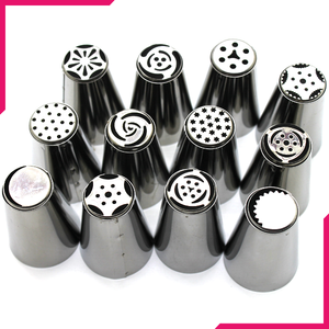 Russian Nozzle/Tip Set 12 Pcs