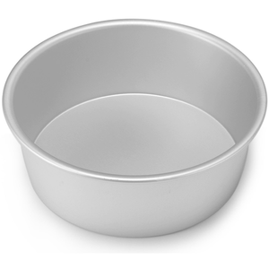 Silver Cake Pan 8x3 inches - bakeware bake house kitchenware bakers supplies baking
